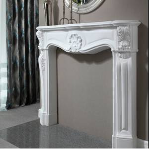 Gypsum fireplaces