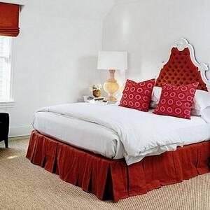 Підзор для ліжка Складки