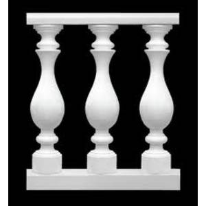 Gypsum balusters