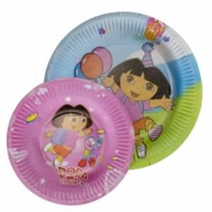 Одноразовые картонные тарелки (Маленькие)