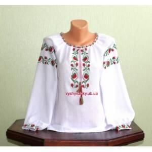 Вышиванки для девочек ручной работы