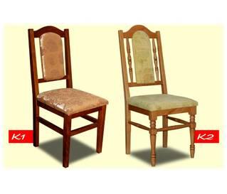 Крісла та табурети з натурального дерева