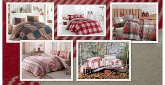 Фланелевое постельное белье - подарит вам тепло!