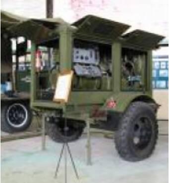 Diesel generator ESD-10 10 kilowatt movabled