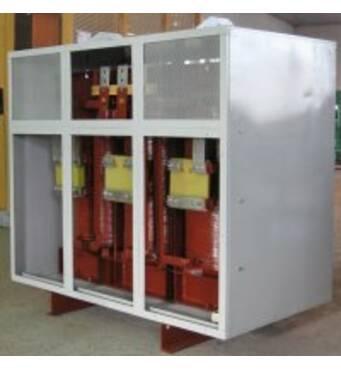 Низьковольтні трифазні трансформатори серії ТСЗІ