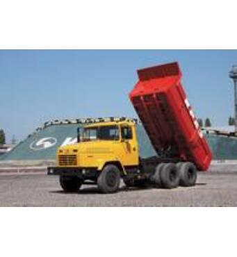 Послуги вантажівок КрАЗ-самоскид: 16 тонн, 10 м.куб