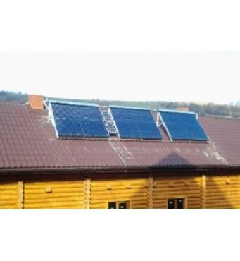 Солнечные коллекторы для дома