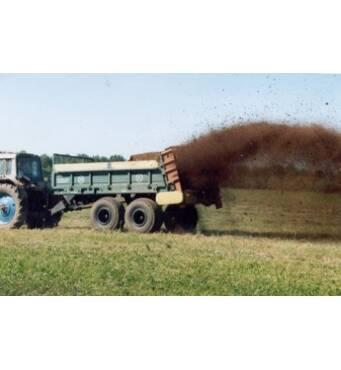 Внесение органических удобрений современным методом