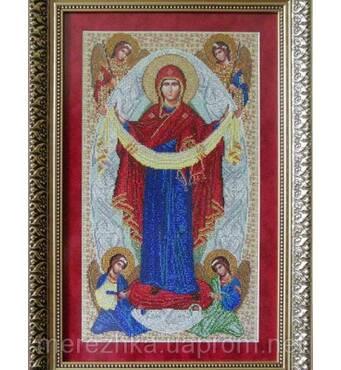 """Покупайте схему для вышивания иконы """"Покрова Пресвятой Богородицы"""" по доступной цене"""