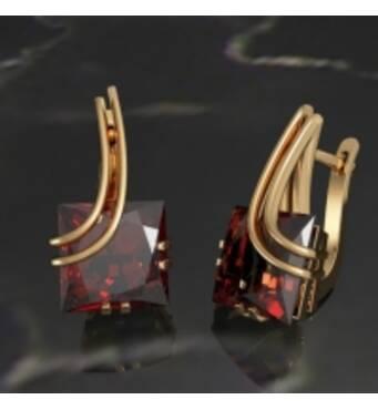 Купить золотые сережки высокого качества (Киев)