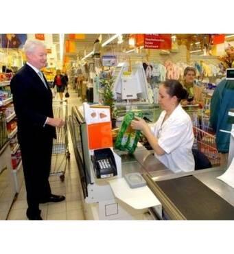 Продавец кассир в супермаркете BIEDRONKA
