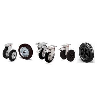 Колеса промышленные, колеса индустриальные, колеса для тележек, колеса для лесов, колеса для контейнеров, колесные опоры.