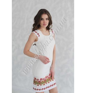 Вышитое платье высокого качества