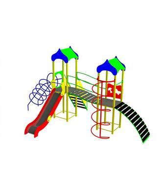 Дитячі ігрові комплекси: монтаж та встановлення в Києві