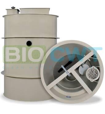 Автономна каналізація для приватних будинків -BIO CWT S-8