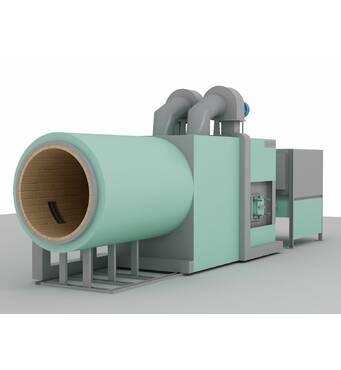 Промислові теплогенератори різної потужності з доставкою та встановленням