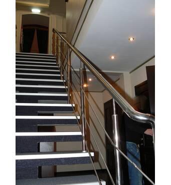 Перила на лестницу - безопасность и красота от компании Дизель!