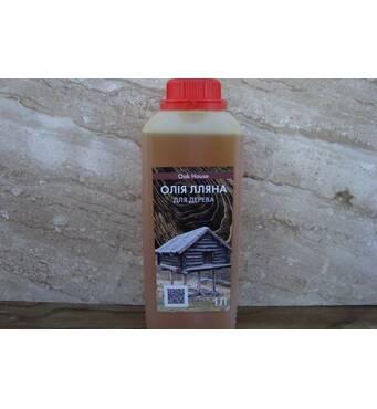 Лляна олія з воском від українського виробника!