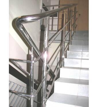 Продається огородження сходів з нержавіючої сталі на замовлення