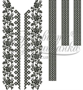 Покупайте заготовки под вышивку бисером вставок для одежды