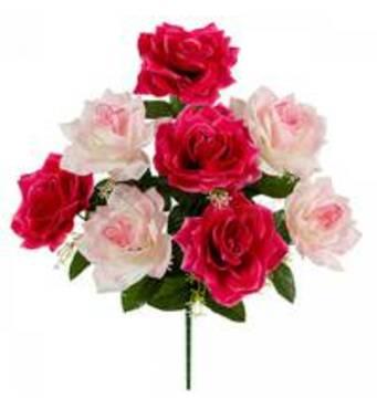 Купити штучні головки квітів недорого у Харкові