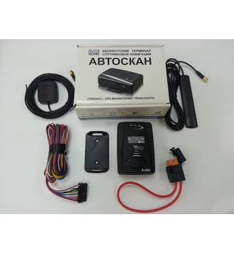 Спутниковая система слежения за автомобилем Автоскан