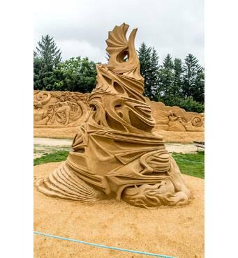 Виготовляємо піщані скульптури за особливою технологією