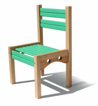 Дитячий стільчик дерев'яний купити в Києві