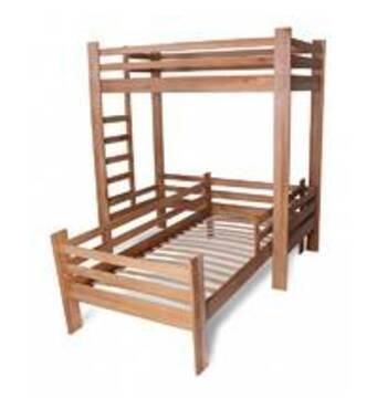 Ліжко натуральне дерево дитяче купити