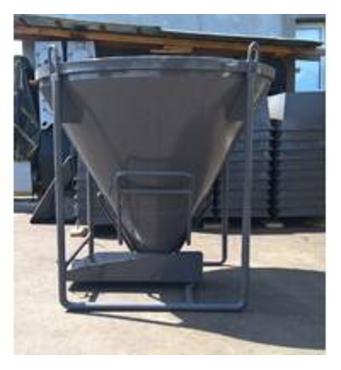 Бункер для подачі бетонувід ТОВ Будмаш – зручне та якісне будівельне обладнання на вигідних умовах