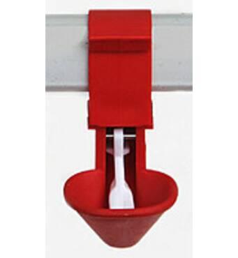 В продаже автоматическая поилка для птиц микрочашкова