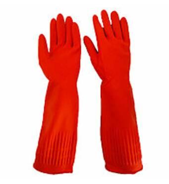 Утепленные резиновые перчатки оптом недорого