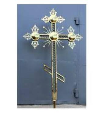 Накупольні хрести виготовленнязамовити недорого