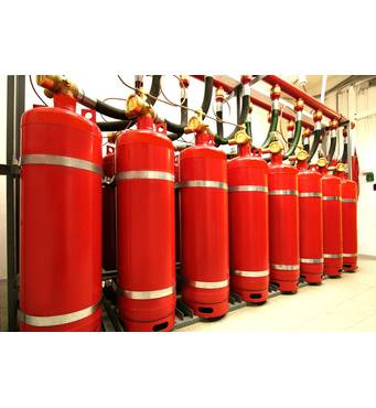Продаеммодуль пожаротушения газовый