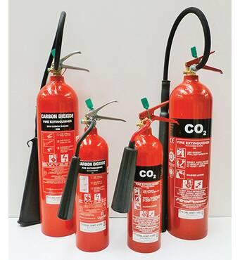 В продаже углекислотный огнетушитель по низкой цене