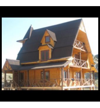 Будинки з профільованого бруса під ключзамовити недорого