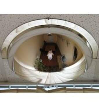 Купольное панорамное зеркало - выгодное решение для вас