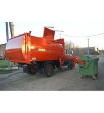 Купити контейнерний сміттєвозза доступною ціною