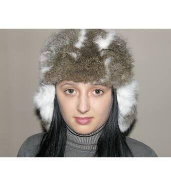 Теплі зимові шапки з натурального хутра купити