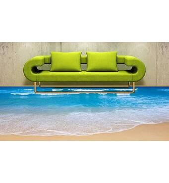 Наливна підлога 3д Море