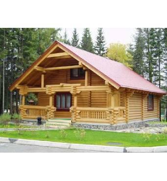 Деревянные дома из клееного бруса: предоставляем строительные услуги