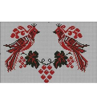 Красивые схемы вышивки крестом продаются в магазине Мереживо