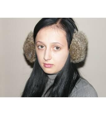 Купуйте навушники хутряні кролик
