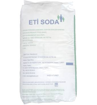 Сода пищевая оптом (Турция)