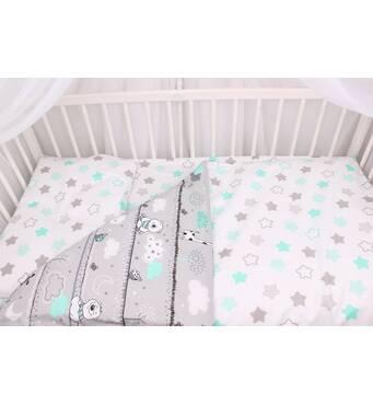 Купить комплект постельного белья для новорожденного Мирамель