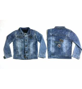 Дитячі весняні куртки джинсові