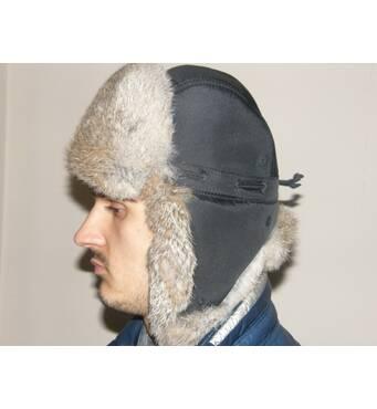 В продаже шапка ушанка мужская с натуральным мехом