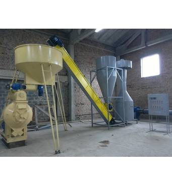 Обладнання для виробництва деревних гранул купити