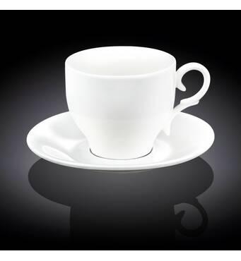 Реализуем белые чайные чашки