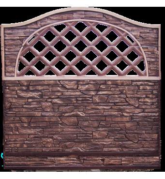 Декоративный бетонный забор в наличии